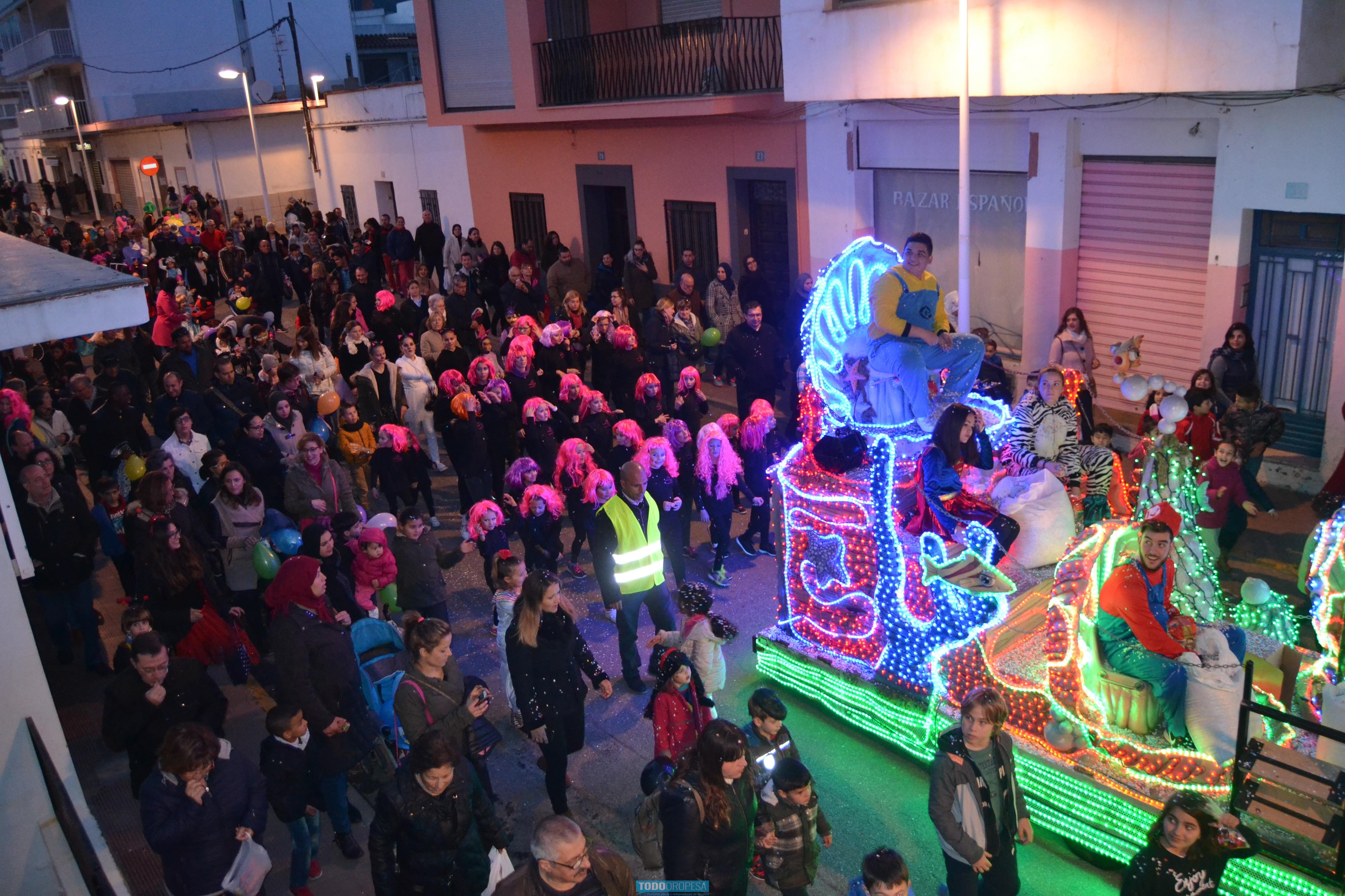 El desfile de disfraces de Carnaval llega este sábado a Oropesa del Mar
