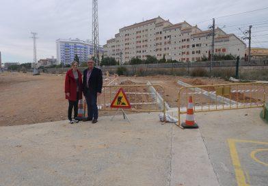 Arrancan las obras del carril bici de Oropesa del Mar