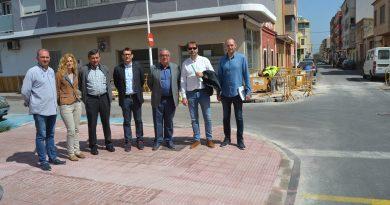 Comienza la segunda fase de las obras de accesibilidad en Oropesa del Mar