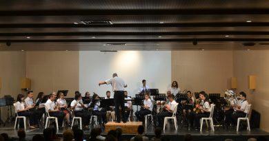 La Unió Musical d'Orpesa interpreta el Concierto de Primavera en el Espai Cultural