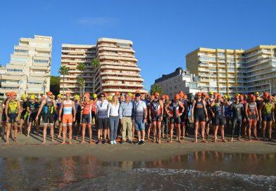 Más de 130 deportistas se dan cita en la última prueba puntuable del Triatlón