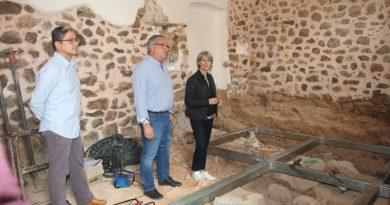Oropesa ultima las obras de rehabilitación del antiguo hospital