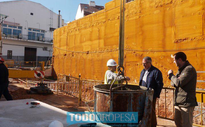 Las obras de la nueva biblioteca de Oropesa, en marcha