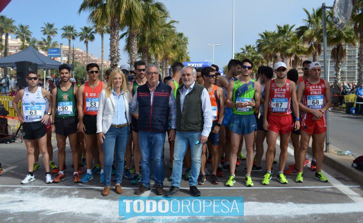 López y Pérez ganan el Campeonato de España de Marcha en Oropesa