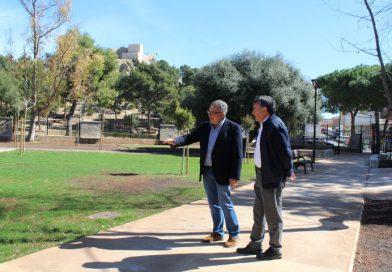 Oropesa ultima la remodelación y accesibilidad del Parc del Castell