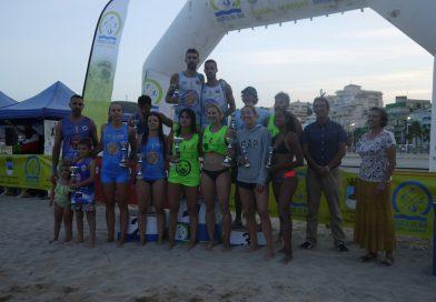 Más de 130 deportistas participan en el circuito de vóley playa en Oropesa
