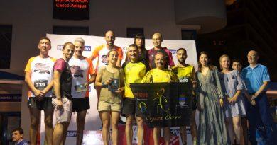 Oropesa reune a más de 400 'runners' en la sexta edición del 10k nocturno