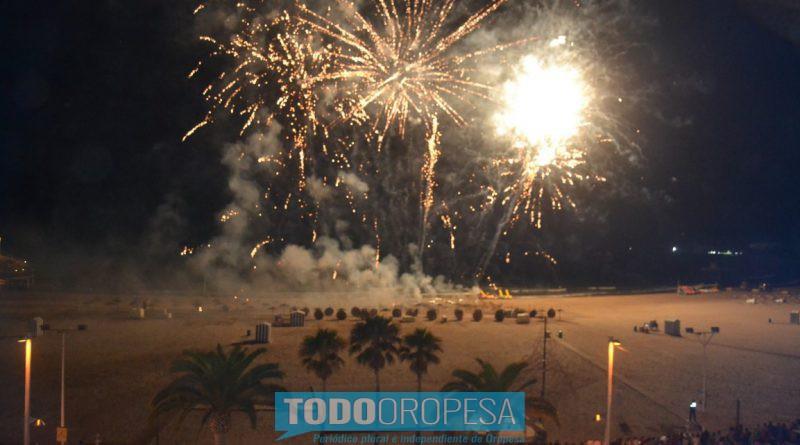 Oropesa lanza un sorteo para ver el castillo de fuegos desde el balcón de turismo