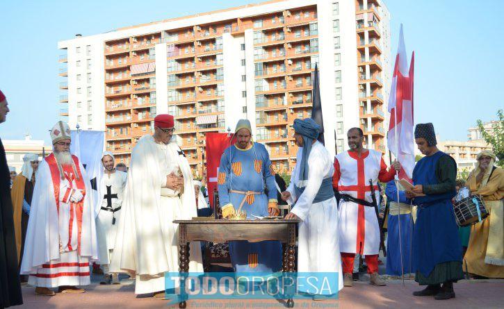 Oropesa conmemora el 9 d'Octubre con una recreación histórica