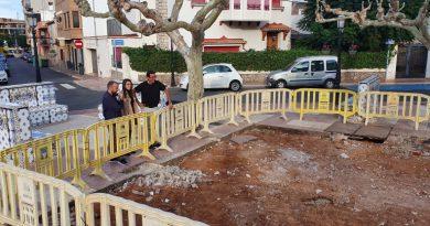 Retiran la fuente de la plaza Mayor por motivos de seguridad