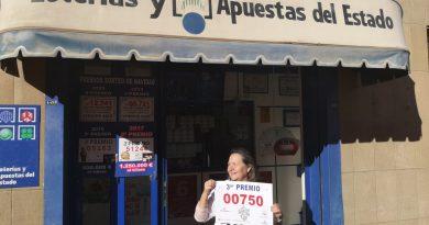 Toca en Oropesa el segundo premio del Sorteo de Invierno de la Lotería