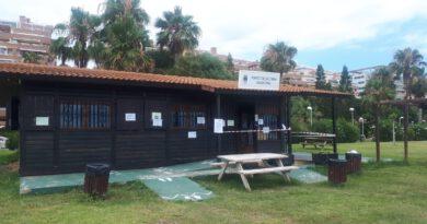 Oropesa abre la biblioplaya de Amplàries con todas las medidas de prevención