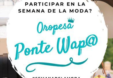 La campaña 'Oropesa, ponte guapa' promocionará el comercio en la Semana de la Moda
