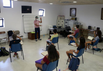 Les escoles de música reprenen les classes amb les mesures de seguretat
