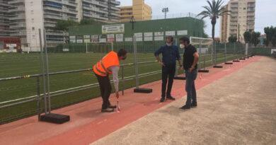 Arrancan las obras de remodelación del campo de fútbol de Oropesa