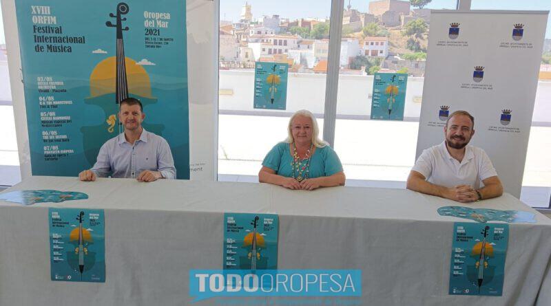 El Orfim vuelve a Oropesa del 3 al 7 de agosto con cinco actuaciones